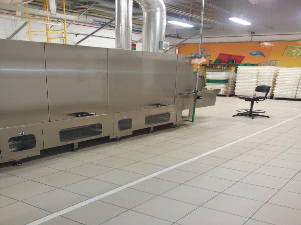 Revestimento técnico Keratec na Garoto (Nestlé) em Vitória.